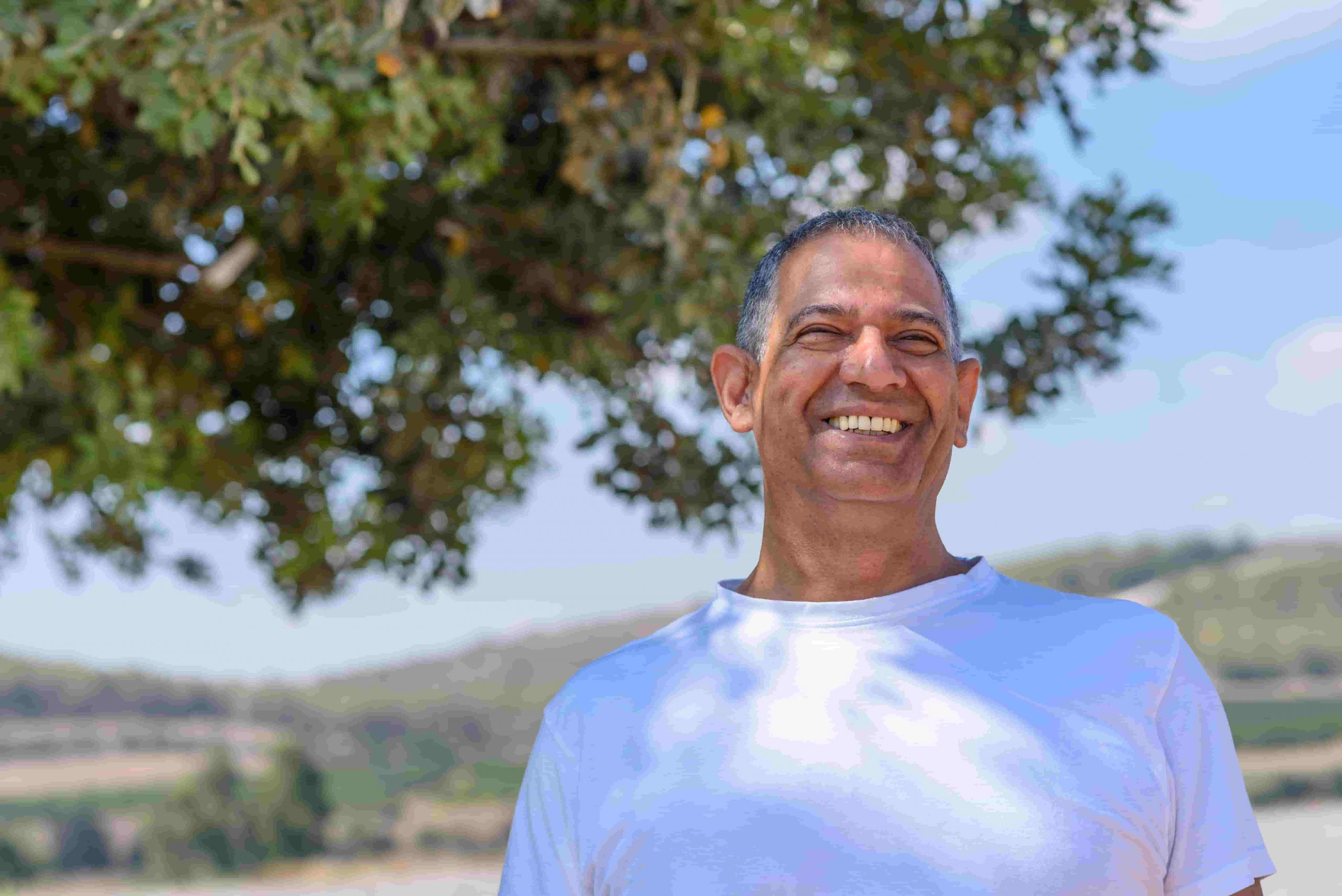 שמואל לביא (45), גן-יבנה: